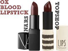 The Lipstick: Ox Blood