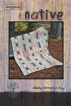 Native Quilt Pattern - Villa Rosa Designs