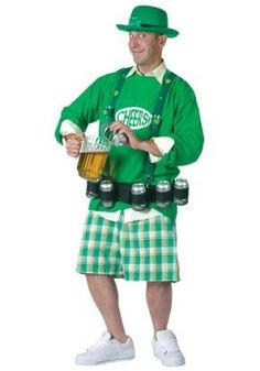 St Patricks Day Costumes - Cheers and Beers Costume