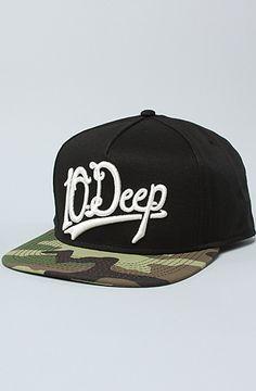 6ecf5a638c9 10 Deep The Delta House Snapback Cap in Black Delta House
