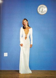 """80s-90s-supermodels:  """"NY"""", Harper's Bazaar US, January..."""