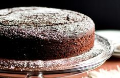 Recipe for chocolate whiskey cake. Photo: Andrew Scrivani for The New York Times
