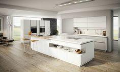 Große, Weiße Küche * Kochinsel * Moderne Kücheninsel * Ewe Küchen Modern  Kitchen Design,