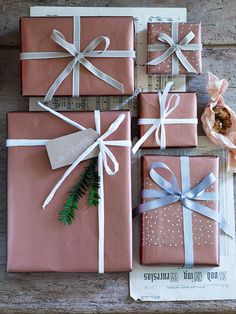 Copper Wrapping Paper NEW - Christmas Trends - Christmas