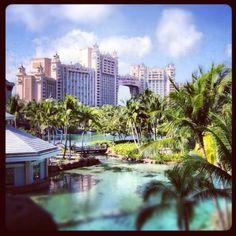 The view from Coral Towers at Atlantis Resort #Atlantis #AtlantisHoliday #OutOfTheWorldExperience