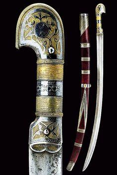 A beautiful Circassian shasqua, provenance: Caucasia dating: Century.