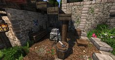 Medieval Estate [Conquest Reforged] Minecraft Project