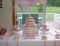 Baby Shower by Shauna Younge Dessert Tables, via Flickr