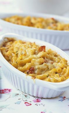 Pasta gratin with ham Best Mac N Cheese Recipe, Macaroni And Cheese, Beer Recipes, Great Recipes, Cheese Recipes, Easy Recipes, Good Food, Yummy Food, Tasty