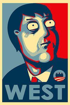 mayor adam west. I would vote for batman :)