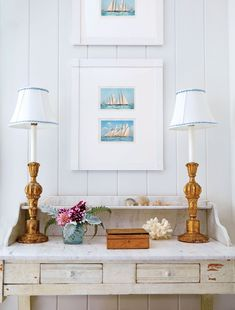 This Nantucket Home Underwent a Charming, Classically-Inspired Revival Coastal Living, Coastal Decor, Lorena Lima, Nantucket Home, Claudia S, Fashion Room, Antique Shops, Sweet Home, Gallery Wall