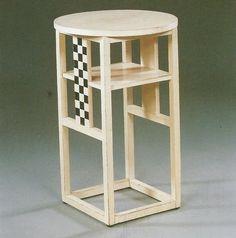 side table. Josef Hoffman