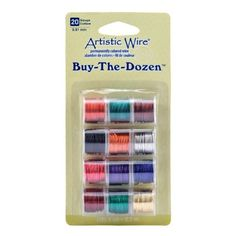 Artistic Wire 20-Gauge Buy-The-Dozen, Various Colors, 12-Pack Beadalon,http://www.amazon.com/dp/B0044JPQV6/ref=cm_sw_r_pi_dp_TXx2sb1A0A82R9RV