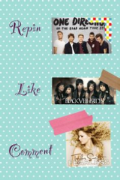 Tbh I like a few songs by all the artists above but I prefer One Direction. I'm a directioner. Not a swiftie or rebel.