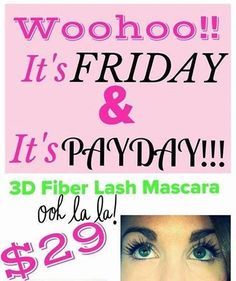 Younique friday | Photo: IT'S FRIDAY! IT'S PAYDAY! IT'S TIME TO LASH OUT!!! Do you want ...