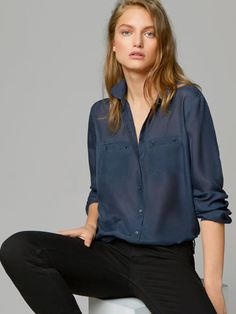 CAMISA SEDA - Ver todo - Camisas & Blusas - WOMEN - España