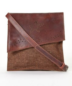 Look At This Zulilyfind Brown Star Cutout Convertible Clutch By I Love Accessories