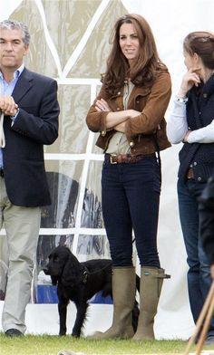 Kate Middleton y su perro Luppo