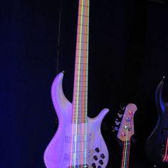 @bassmusicianmag @drstrings, #bassguitar #electricbass #custombass #badassbass #bassporn#bassmusicianmag#namm #namm2017… #BassMusicianMag