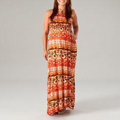 Maxi Pattern Dress