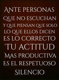 Muy  cierto Smart Quotes, Great Quotes, Quotes To Live By, Words Quotes, Wise Words, Me Quotes, Motivational Phrases, Inspirational Quotes, Mots Forts
