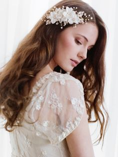 Bridal hair comb Wedding Hair Accessories by TheWeddie on Etsy, €180.00