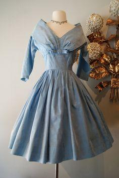 Vintage 1950s Alice in Wonderland Dress / 50s by xtabayvintage, $198.00