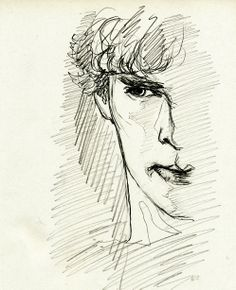 Sherlock. Gorgeous fanart. I don't know the author, I would be glad to credit him/she if I only could!