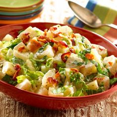 Bacon Ceasar Potato Salad