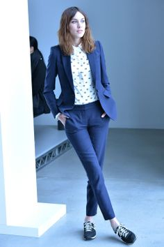 Alexa Chung #Mulberry #satchelsmenswear #tomboy