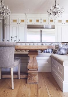 Interior Design- banquette #kitchen #dining #remodel