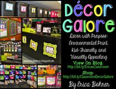 Erica's Ed-Ventures: Decor Galore!