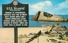 S. S. Atlantus (Concrete Ship)Cape May: