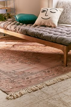 Shop Stina Floral Space Dyed Printed Rug at Urban Outfitters today. We carry all the latest styles, colors and brands for you to choose from right here.