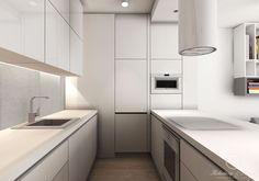 WHITE - aranżacja mieszkania - Kołodziej & Szmyt