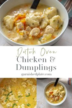 Quick Dinner Recipes, Quick Meals, Dutch Oven Chicken, Baked Chicken, Best Chicken Seasoning, Herb Roasted Potatoes, Dutch Oven Recipes, Cooked Carrots, Family Meals