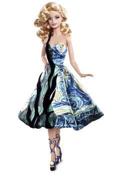 Barbie Doll Inspired by Vincent van Gogh | Imagem: Barbie Collector
