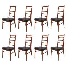 1stdibs   8 Koefoeds Hornslet Chairs