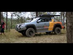 Wolf 4x4 - 4x4 Australia Magazine Behind The Scenes - Land Cruiser Mountain Park July 2015 - YouTube