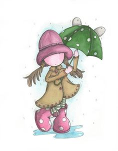 RAIN RAIN GO AWAY  www.michellecampbellart.blogspot.co.uk