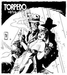 Torpedo 1936 by Jordi Bernet