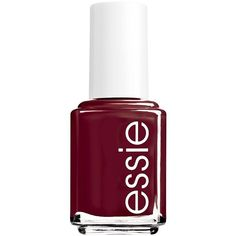 essie Nail Polish found on Polyvore featuring beauty products, nail care, nail polish, makeup, nails, beauty, nagellack, red, red nail polish and essie nail color