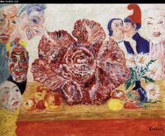 Red Cabbage and Masks