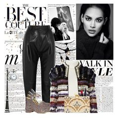 """""""Inner Light -Grab It"""" by vampirella24 ❤ liked on Polyvore featuring Anja, Whiteley, COSTUME NATIONAL, Bulbrite, Pedro del Hierro, Étoile Isabel Marant, Balmain, Maybelline, Smashbox and KOTUR"""