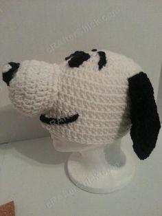 Charlie Brown's Snoopy the Dog Crochet Character Hat « The Yarn Box The Yarn Box