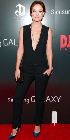 Olivia Wilde   Django Unchained premiere (NYC) 2013 (Jumpsuit by A.L.C. 29a4daa55