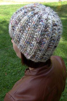Ravelry: F586 Mistake Rib Stitch Hat pattern by Vanessa Ewing
