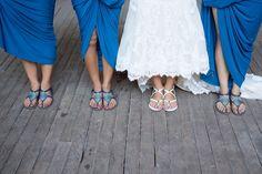 Comfortable bride and bridesmaid shoes Married: Jessica & Shane   Wavehouse Studios Injidup