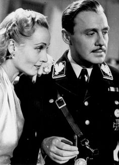 Carole Lombard & Jack Benny in To be or not to be; the finest farce there is.