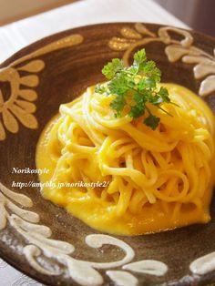 かぼちゃのポタージュパスタ by 紀子さん / レシピサイト「ナディア / Nadia」/プロの料理を無料で検索